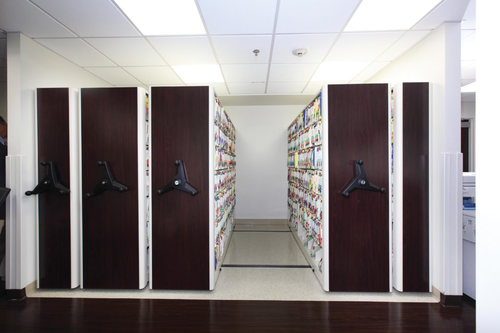 High Density Medical Storage - Patient Records